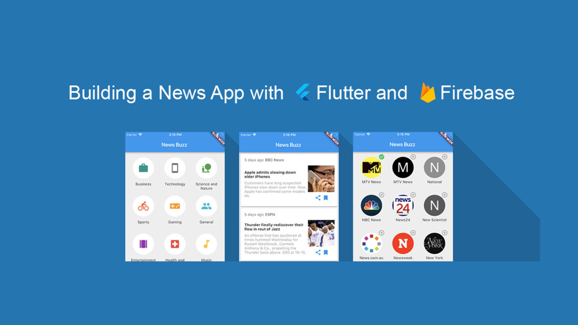 Flutter hands on: Building a News App | Flutter App Development