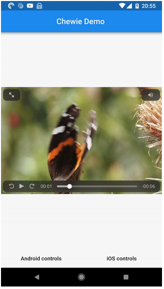 The video player for Flutter with a heart of gold | Mobile