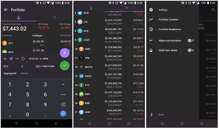 Modern crypto portfolio & market explorer | Built with Flutter