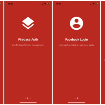 Flutter Login Screen with Firebase Auth and Facebook Login