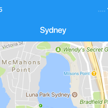 A Flutter example to use Google Maps in iOS and Android apps