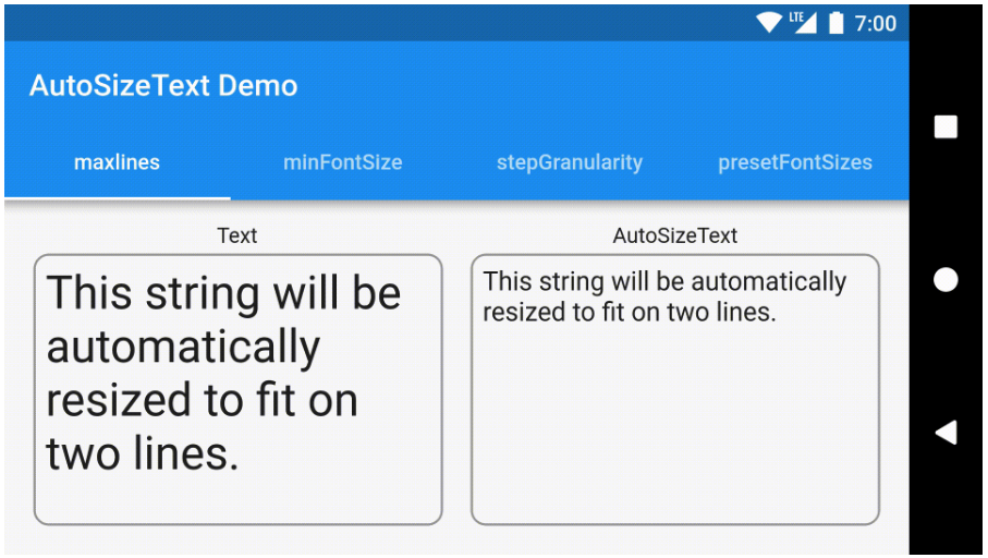 Flutter widget that automatically resizes text to fit