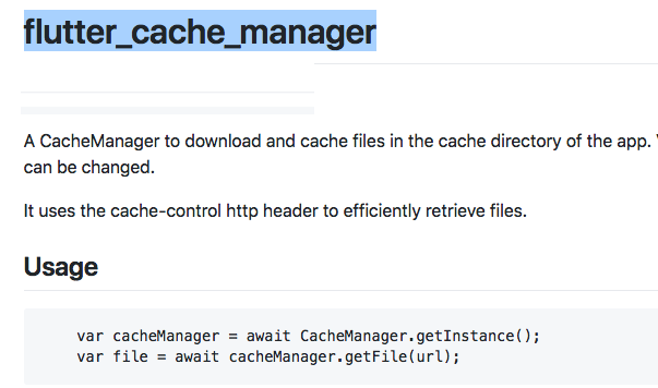 A CacheManager to download and cache files in the cache directory of the app
