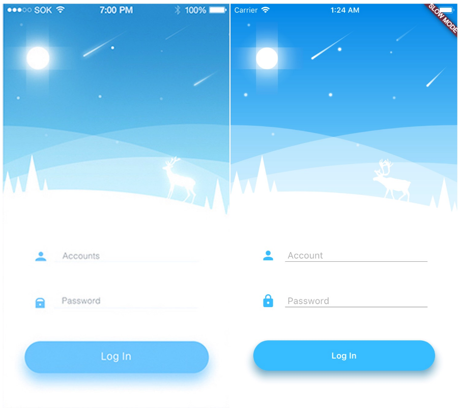 A weather app built to learn how to use Canvas and Animation in Flutter.