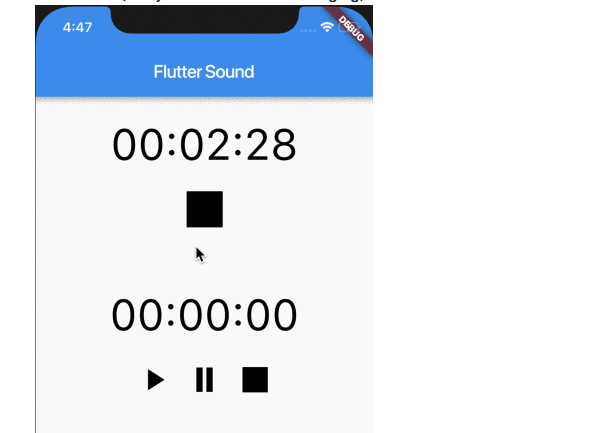 Flutter plugin for sound | Audio recorder and player