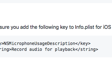 Flutter Record audio and store it locally