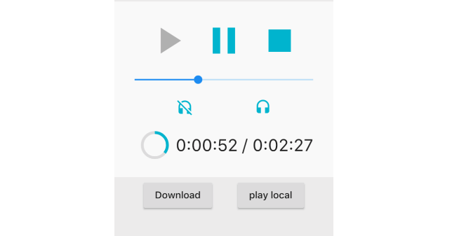 A flutter plugin to play audio files | Mobile App Development