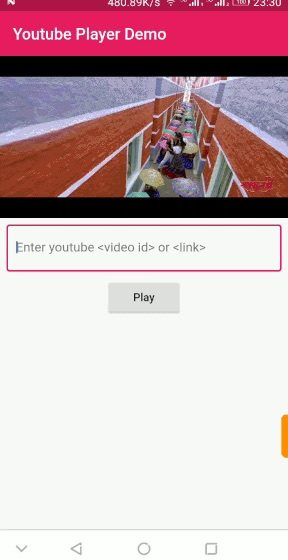 Youtube Player Plugin For Flutter App | Mobile Development