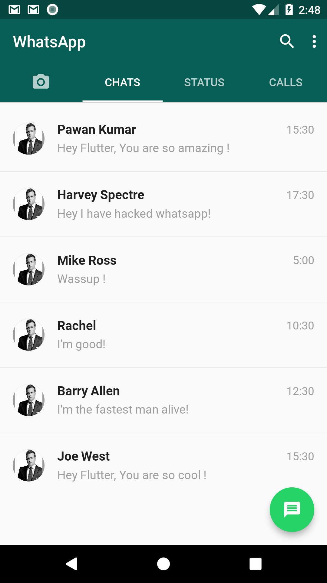 Building a WhatsApp Clone in Flutter.