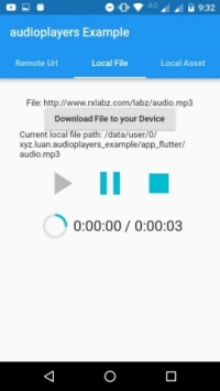 Flutter plugin to play multiple simultaneously audio files.