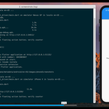 A command line utility and package for capturing screenshots for Flutter