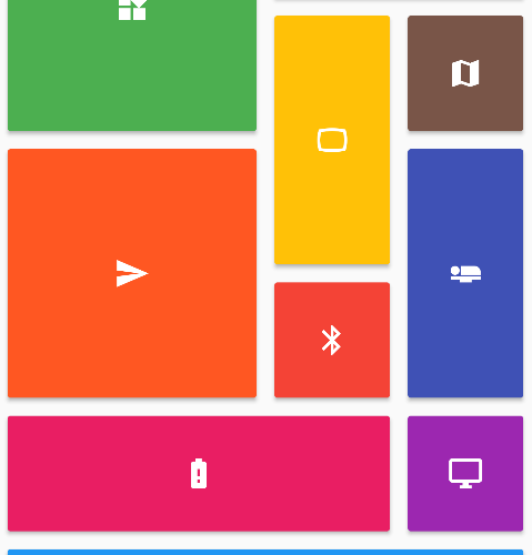 A Flutter staggered grid view which supports multiple columns with rows of varying sizes