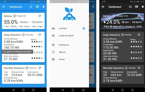 A NissanConnect EV app alternative written using Flutter
