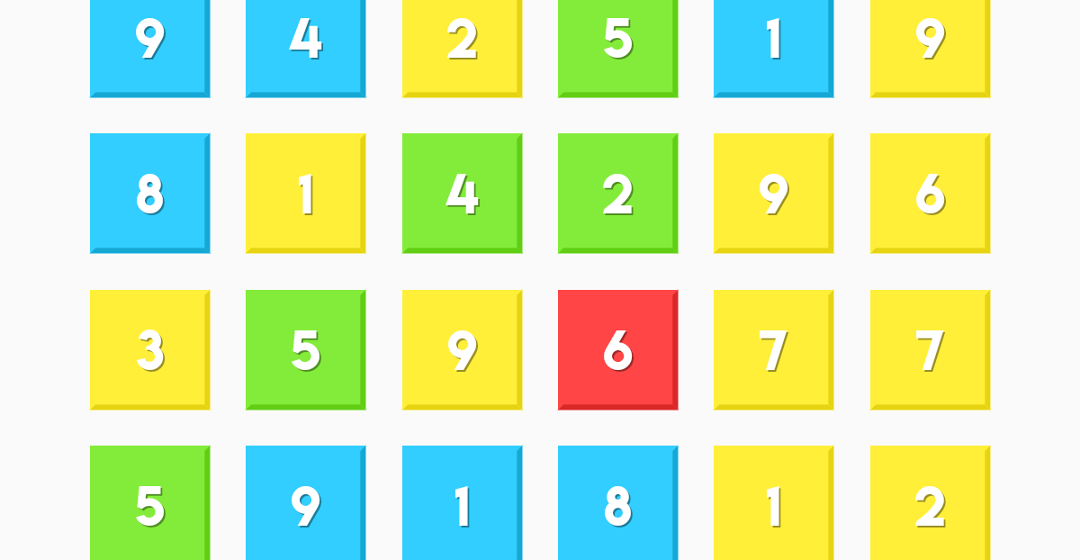 The Brain Training Game About Matching Numbers And Colours