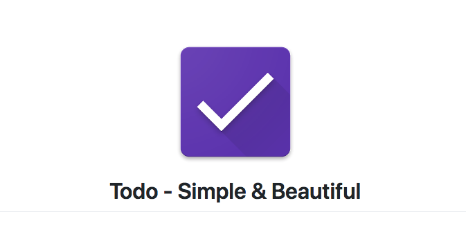 Todo - Simple & Beautiful