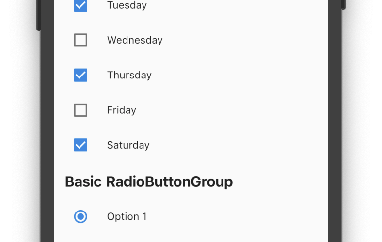 A set of Flutter widgets that makes grouping Checkboxes and Radio Buttons much easier