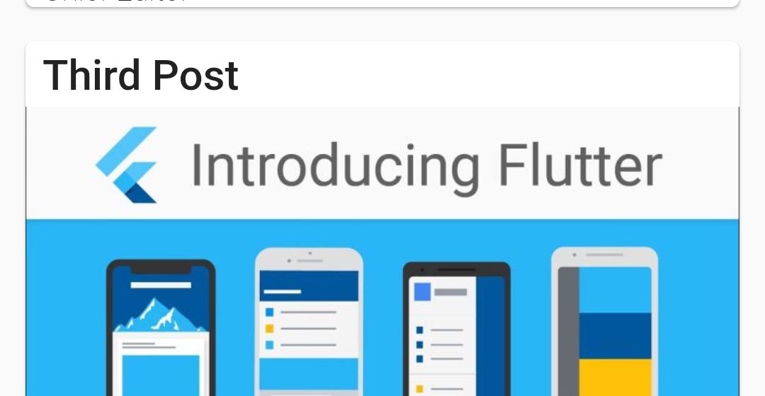 Flutter WordPress API