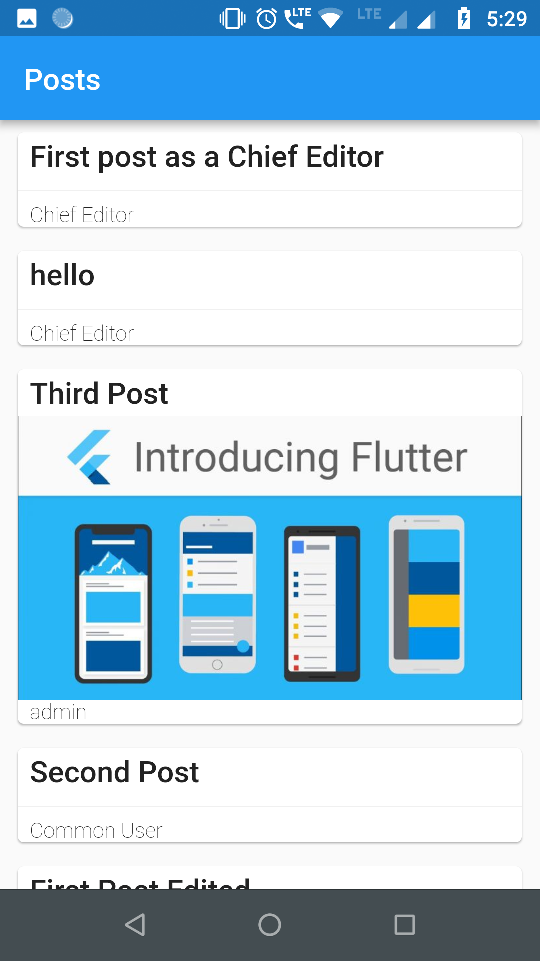 Flutter WordPress API | Mobile Application Development