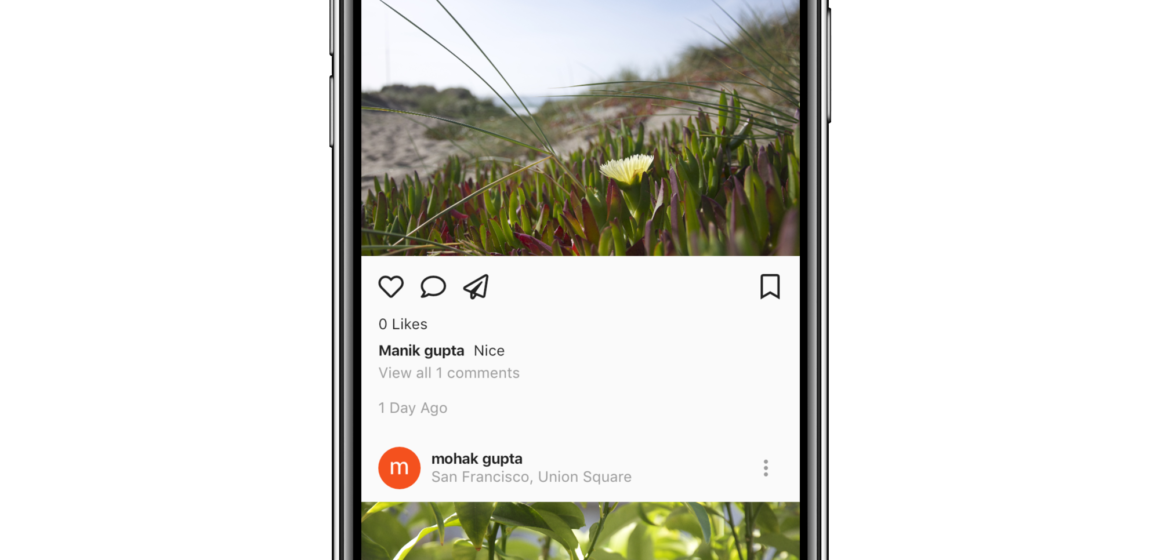 Working Instagram Clone (Frontend + Backend) created with Flutter and Firebase