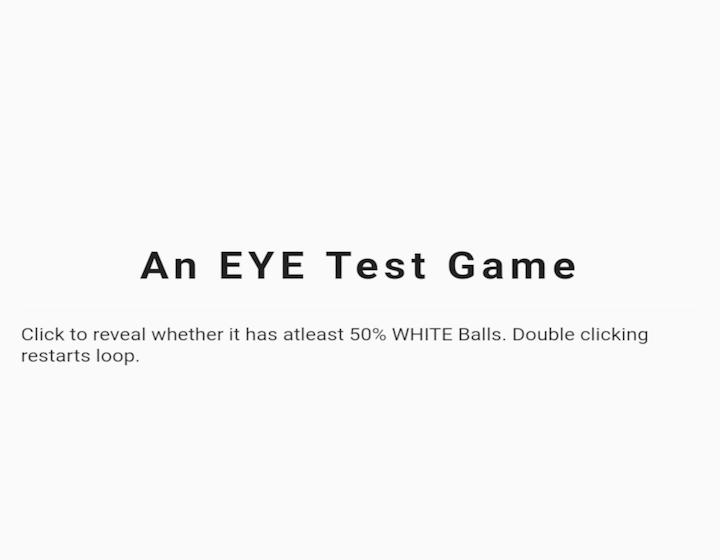 A Simple EYE Test Game built using Flutter CustomPainter