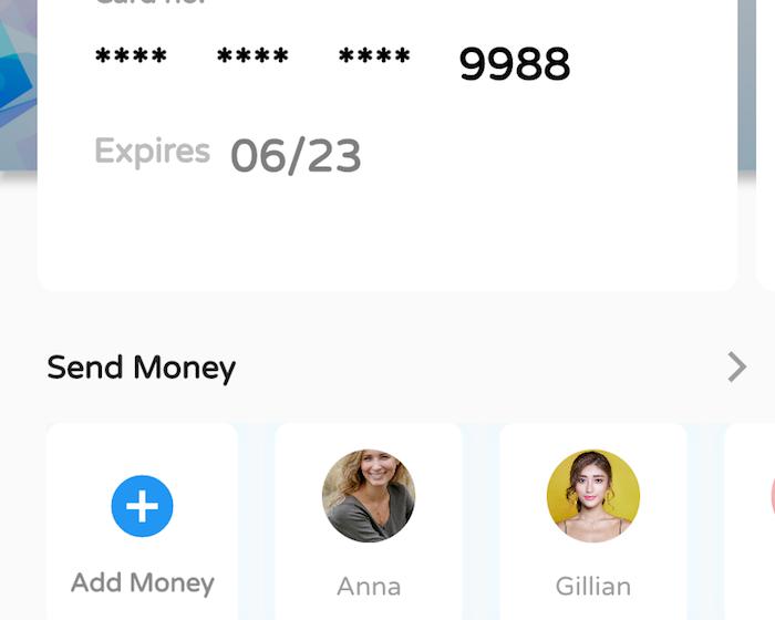 Flutter Wallet APP UI Challenge