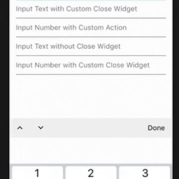 Keyboard Actions   Flutter Mobile App Development