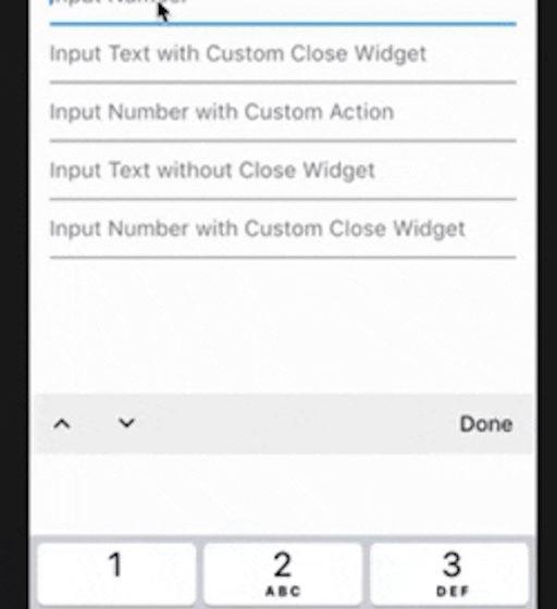 Keyboard Actions | Flutter Mobile App Development