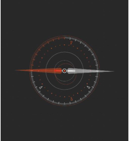 Multiplatform Flutter app magnetometer accelerometer location sensors