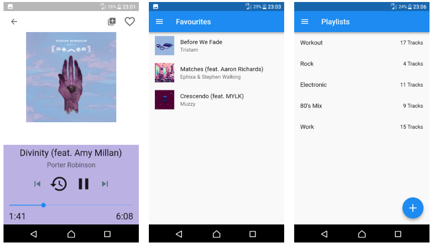 Simple local music player built with flutter. It uses the audioplayer plugin to play files