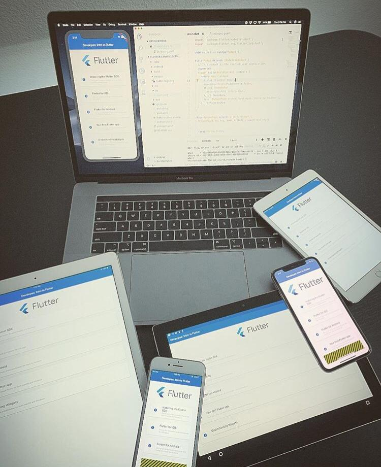 Cross Platform Apps Development.
