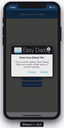 A Flutter Package for easy building dialogs