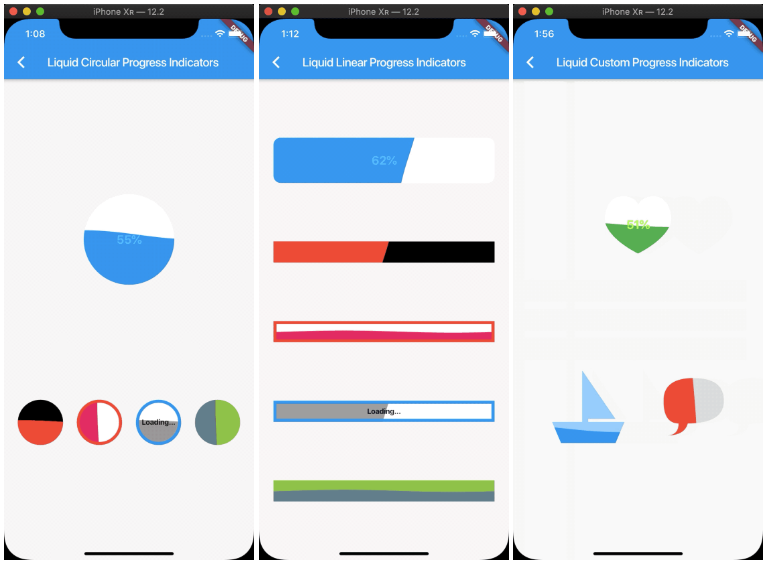 A liquid progress indicator for Flutter | Mobile App Development