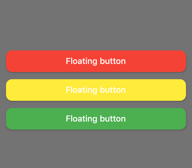 Example of floating buttons using dialogs on Flutter