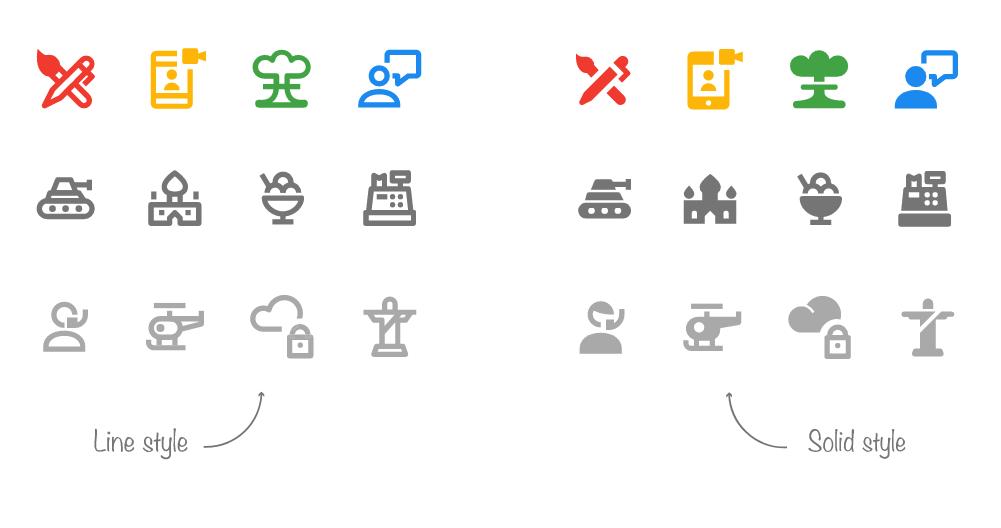 Material design icons flutter