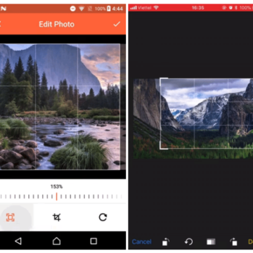 A Flutter plugin for Android and iOS supports cropping images