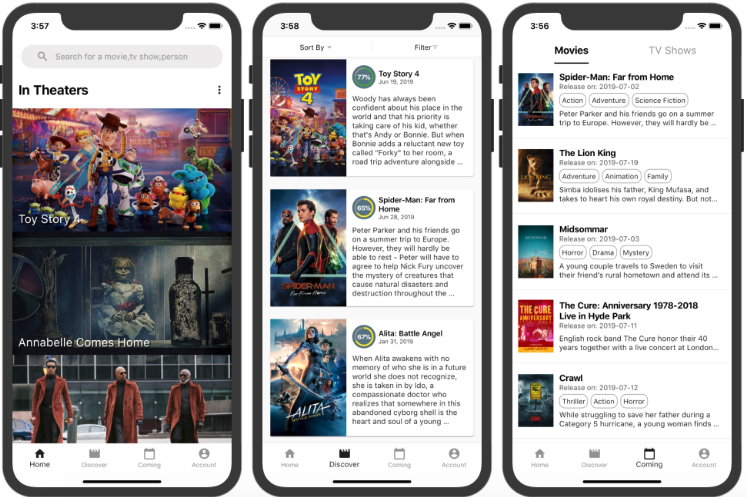 A Flutter movie app build with Fish-Redux and TMDB api