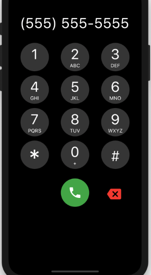 A Phone Dialpad for your Flutter Application