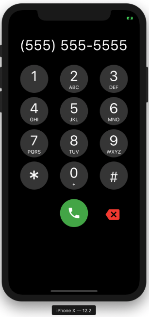 A phone dialer widget that can be added to any Flutter Application to enable ability to dial a number.