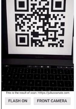 QR Code Scanner for Flutter