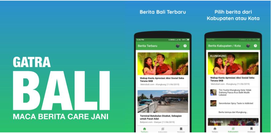 Gatra Bali news reader made using Flutter | Flutter App Development
