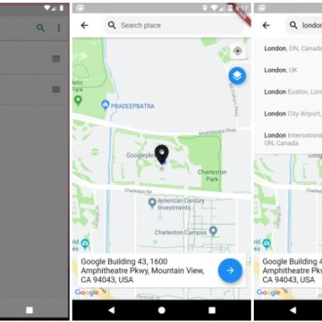 Map location picker component for flutter Based on google_maps_flutter