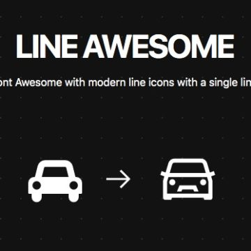 The Line Awesome Icon pack available as Flutter Icons