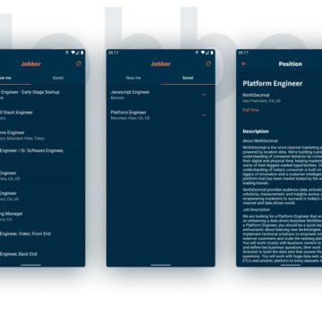 A Flutter app for finding jobs