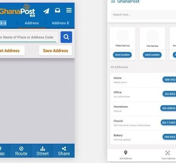 An implementation of GhanaPost GPS re-design